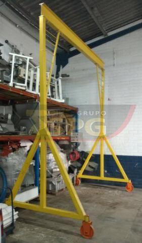 Conjunto vibratório para fabricar tubos manilhas de concreto - Foto 6