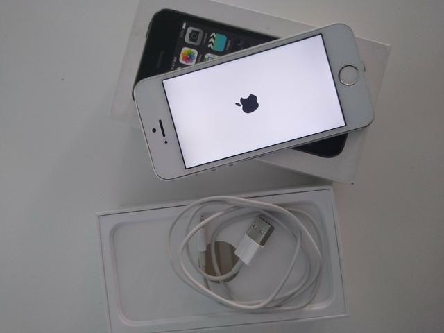 IPhone 5s 16 novinho - Foto 2