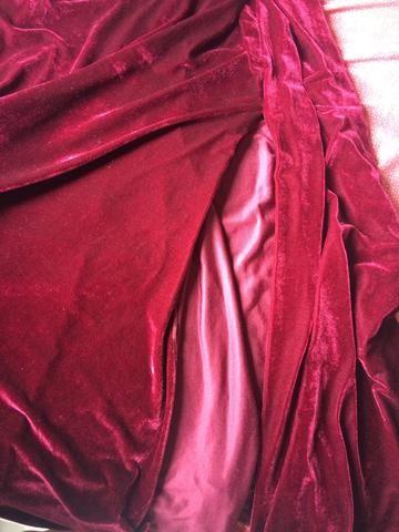 Vestido veludo marcá-la - Foto 3