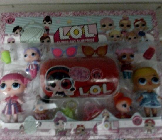 Lol com 6 bonecas - Foto 2