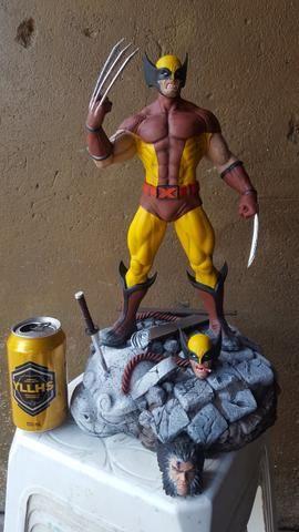 Estátua Wolverine peça de coleção - Foto 3