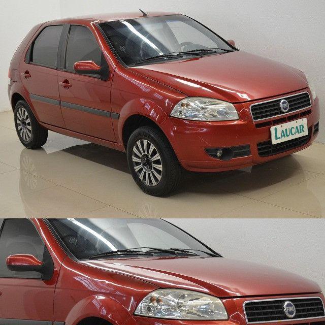 Palio ELX 1.0 - vermelho - ano 2008 - Foto 2
