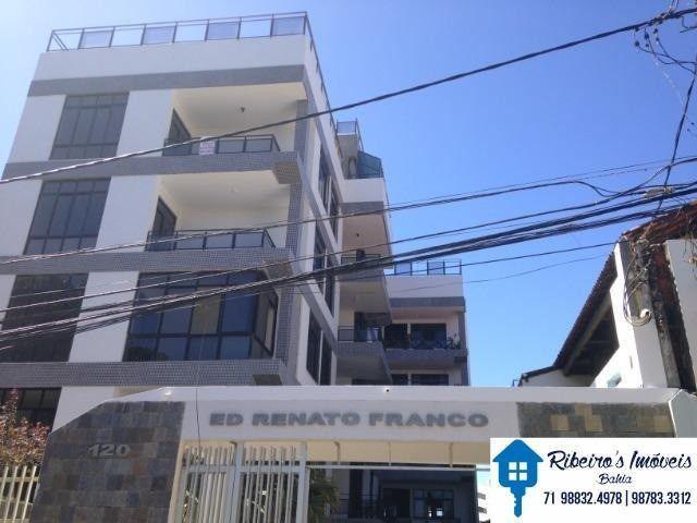 Apartamento 3/4, suite e varanda vista mar, Costa Azul
