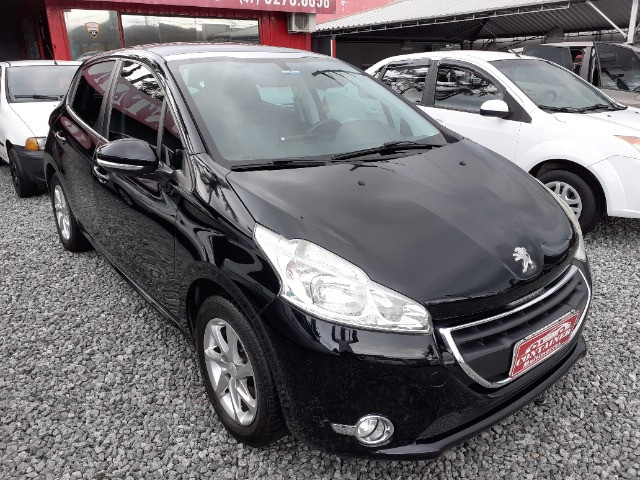 Peugeot 208 1.5 Allure ano 2014 Top - Foto 2