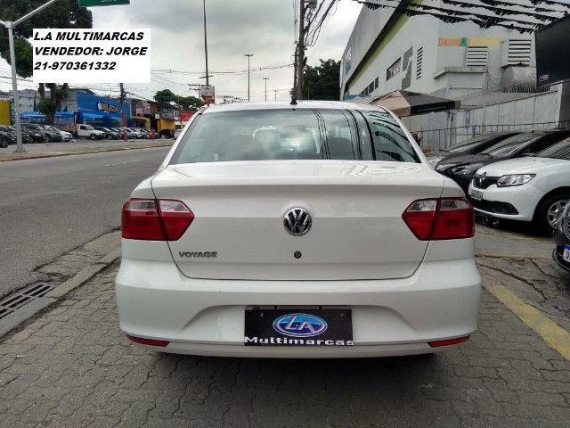 Volkswagen Voyage msi 1.6 flex 8v 2019 _ entrada apartir de 9mil + 48x 727,00 fixas - Foto 8
