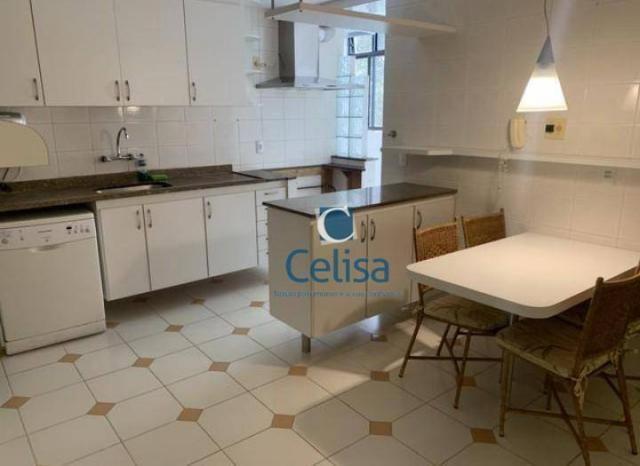 Apartamento com 4 dormitórios para alugar, 170 m² por R$ 5.000/mês - Tijuca - Rio de Janei - Foto 9