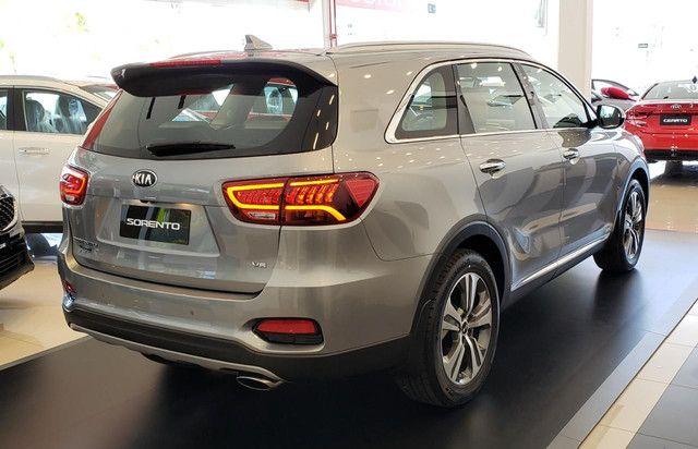 KIA Sorento EX 3.5 V6 AWD Automática 7 Lugares Modelo 2020 - 0KM  - Foto 6