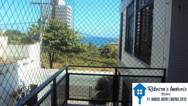 Apartamento 3/4, suite e varanda vista mar, Costa Azul - Foto 19