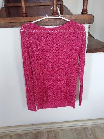 Suéter de tricô (veste até o tamanho M)