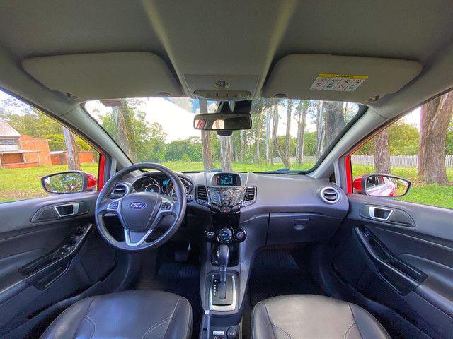 New Fiesta Titanium Baixa Km Placa I Zero - Onix Hb20 Focus Golf Polo - Foto 13