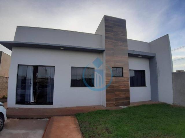 Casa com 2 dormitório à venda, 57 m² por R$ 280.000 - Jardim das Oliveiras II- Foz do Igua - Foto 2