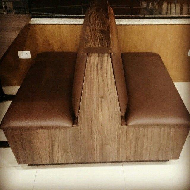 Sofá Booth Captone Duplo