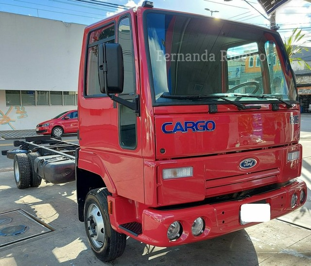 Ford cargo 815 chassis - baixo km - revisado  - Foto 3