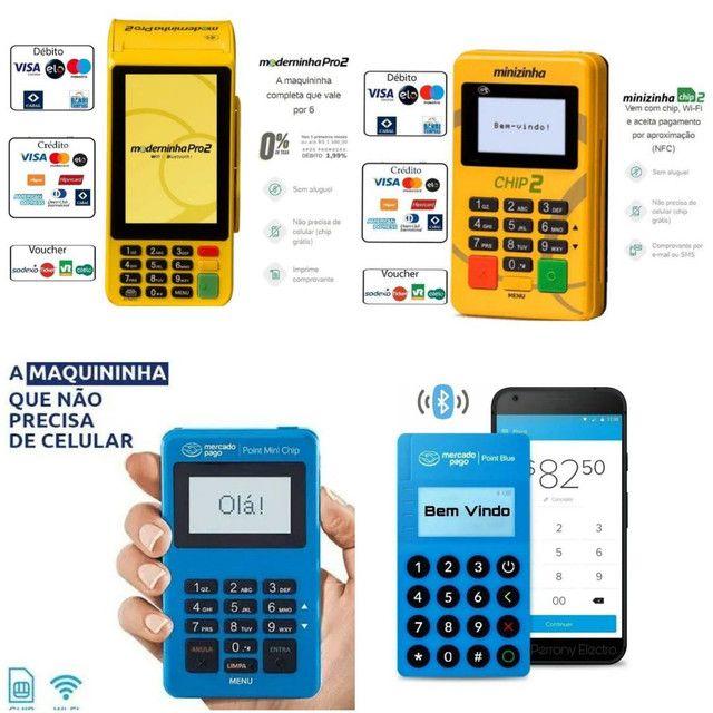 Máquinas de Cartão a partir de R$ 25,00