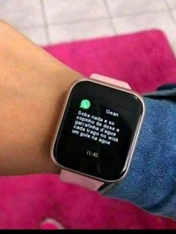 Relógio Inteligente Y68/D20 Pro Atualizado 2020 - Foto 4