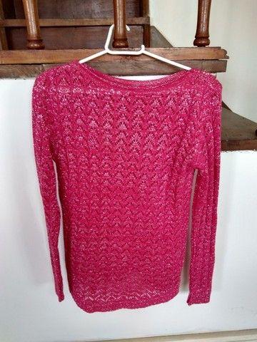Suéter de tricô (veste até o tamanho M) - Foto 2