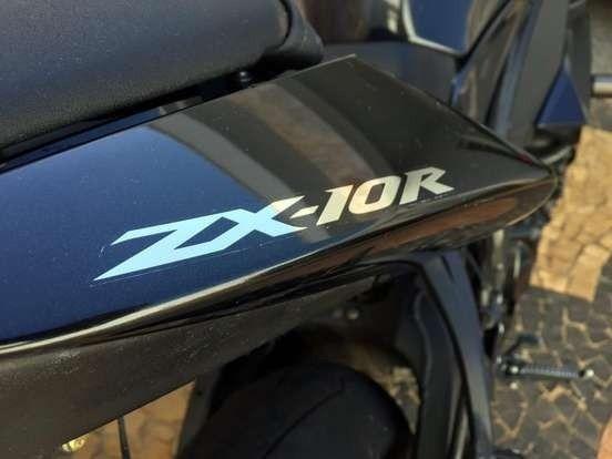 Kawasaki Ninja ZX-10R Único Dono Vendo Urgente! - Foto 8