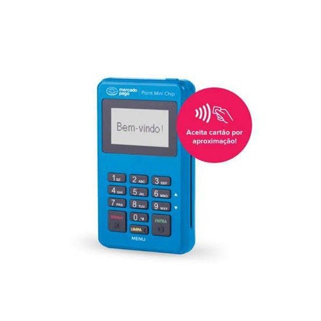 Promoção máquinas de cartão Mini Chip pronta entrega - Foto 2