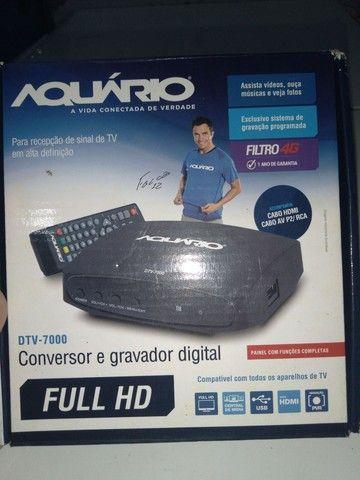 Esta semi novo Vendo  conversor e gravador digital  - Foto 3