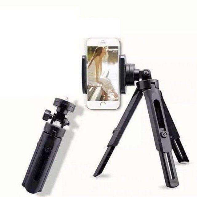 Mini tripé para celular e câmera 360° graus MaxMidia - Foto 2