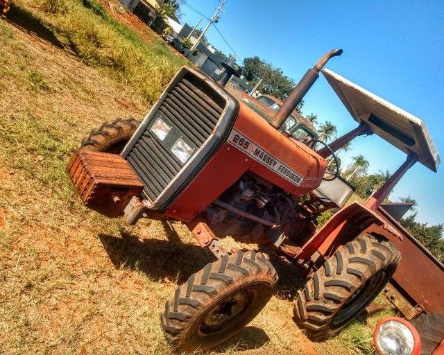 Trator Massey Ferguson 265  - Foto 3