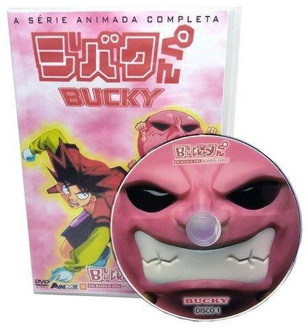 Box Dvd Anime Bucky Dublado Completo