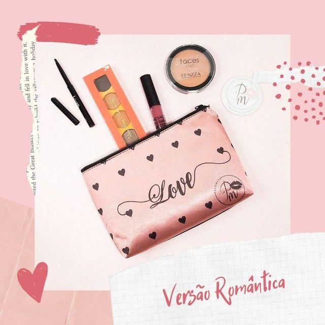 Maquiagem (Kit de make com necessarie)