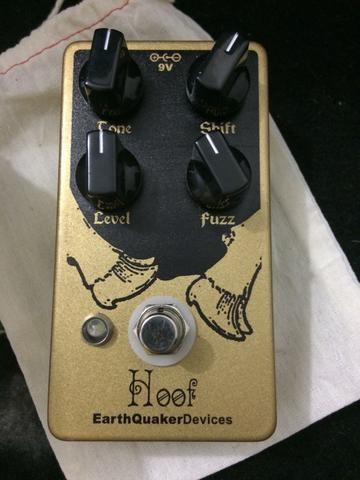 Pedal Hoof Fuzz Earthquaker Devices