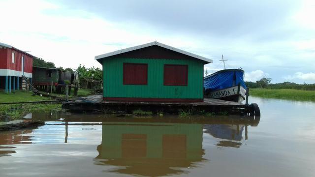 Casa flutuante