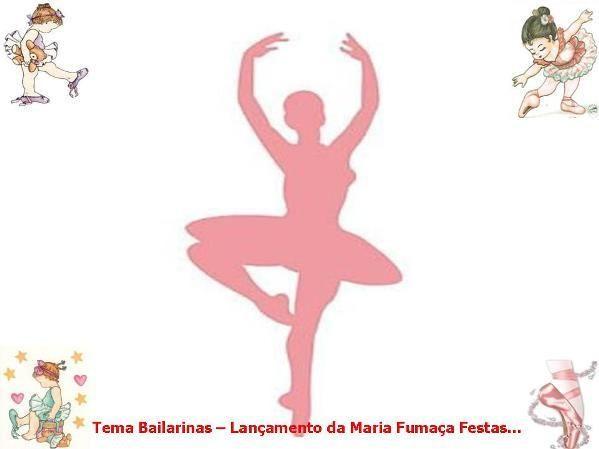 Kit escola Bailarinas para fazer a decoração de aniversário da sua bailarinazinha
