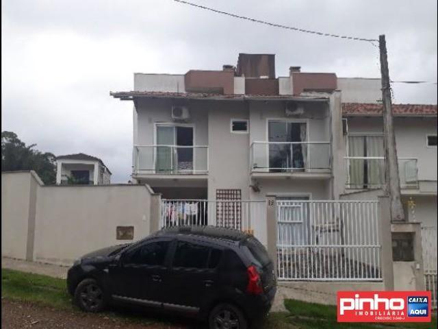 Casa geminada 03 dormitórios, venda direta caixa, bairro guanabara, joinville, sc, assesso - Foto 2