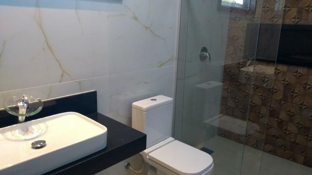 Samuel Pereira oferece: Casa 3 Quartos Nova Moderna Sobradinho Churrasqueira Condomínio - Foto 16