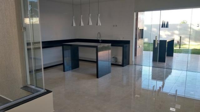 Samuel Pereira oferece: Casa 3 Quartos Nova Moderna Sobradinho Churrasqueira Condomínio - Foto 8