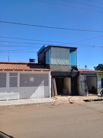 Casa e lote QNQ 2 avenida Comercial otimo pra renda - Foto 5