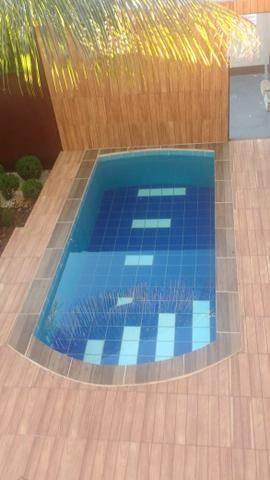Casa com piscina sala de comércio barraco de aluguel - Foto 11