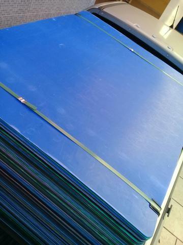 Chapas de poliondas usadas 1,00 x 1,20 - Foto 6