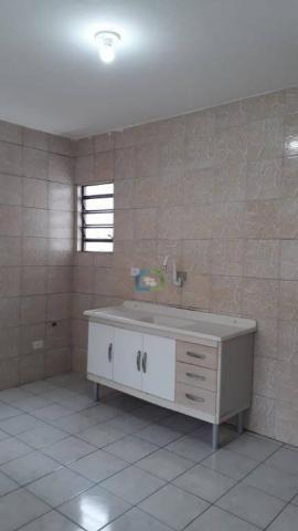 Casa com 2 dormitórios para alugar, 70 m² por r$ 1.100,00/mês - parque maria helena - são  - Foto 16