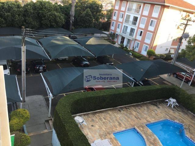 Apartamento com 2 dormitórios à venda, 69 m² por r$ 200.000,00 - chácaras campos elíseos - - Foto 12