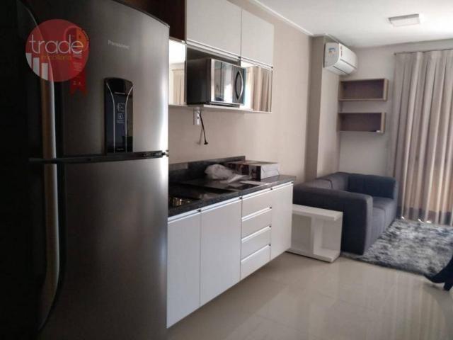 Flat com 1 dormitório para alugar, 44 m² por r$ 1.800,00/mês - bosque das juritis - ribeir - Foto 5