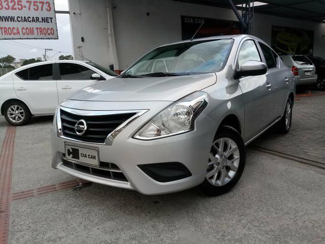 Nissan Versa 1.6 Completo Rodas 9.700KM! Troco Financio