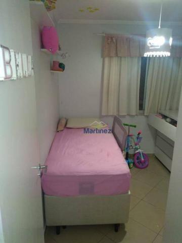 Apartamento com 2 dormitórios à venda, 56 m² por r$ 265.000 - vila alpina - são paulo/sp - Foto 14