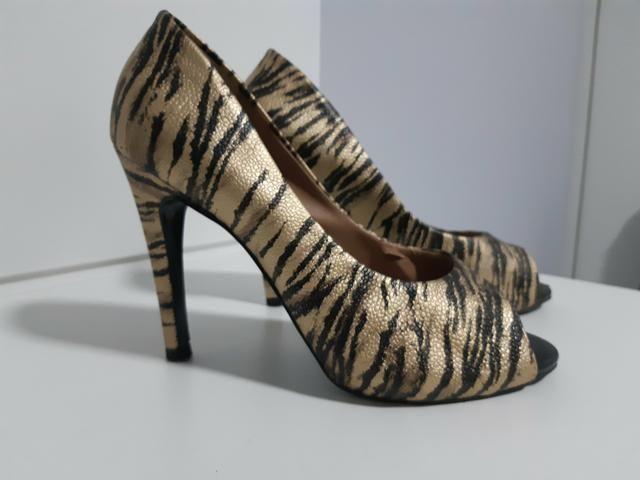 Sapatos n°34 Peep Toe Maravilhosos!!!!
