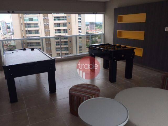 Flat com 1 dormitório para alugar, 44 m² por r$ 1.800,00/mês - bosque das juritis - ribeir - Foto 12