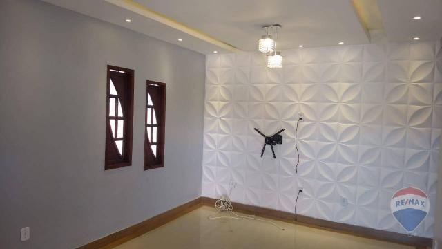 Linda casa com piscina para locação dentro de condomínio - Foto 3