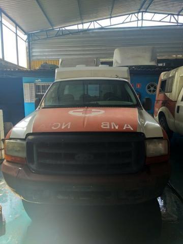 04 F250 4x2 Diesel - Sucata S/ Documento - Retirada De Peças - Foto 10