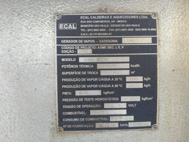 Caldeira Geradora de Vapor - Foto 4