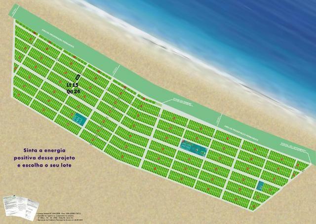 Lote em Canoa Quebrada, com 429 m², documentação perfeita (Registrado). Vista Mar!