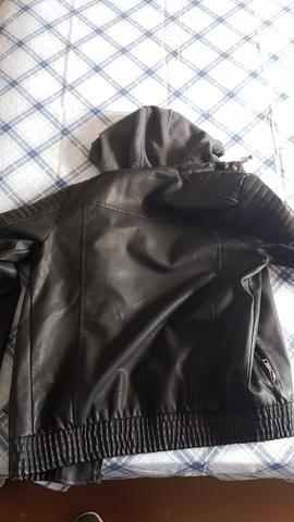 Jaqueta de couro TNG - Foto 4