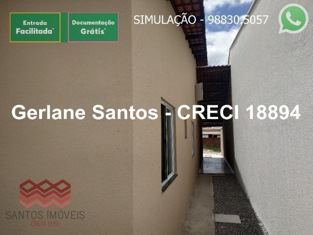 Escritura Grátis Casa 02 Quartos, 2 banheiros, 2 garagens - Foto 18