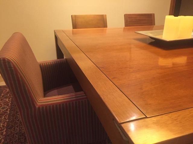 Mesa Jantar Tok Stok Armazém com 6 cadeiras - Foto 2